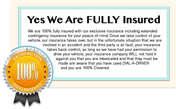Yes We Are Fully Insured
